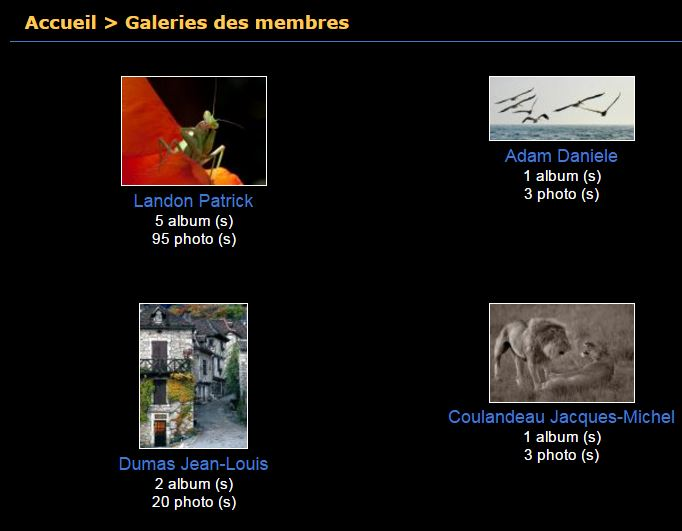 Galeries des membres - Photo-Club de Limours