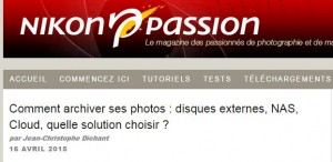 Comment archiver ses photos  disques externes, NAS, Cloud