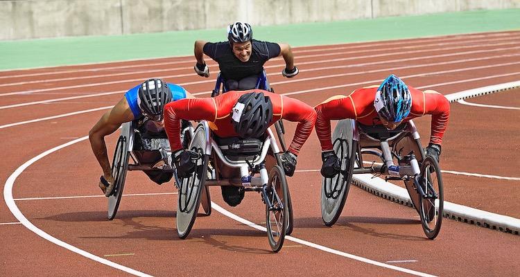 Athletics wheelchair
