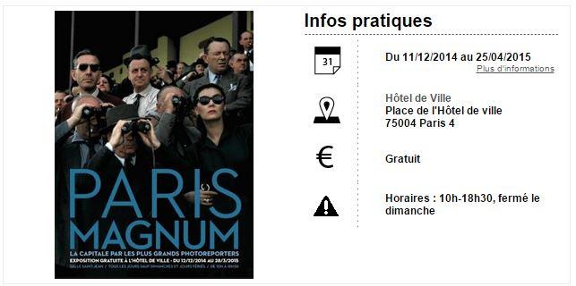 Paris Magnum 2015