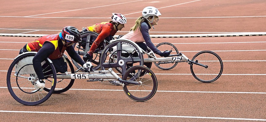 Handi Wheelchair race